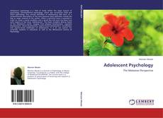 Bookcover of Adolescent Psychology