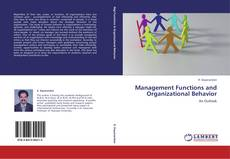 Bookcover of Management Functions and Organizational Behavior