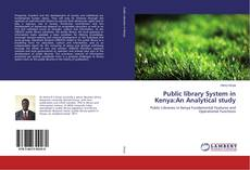 Bookcover of Public library System in Kenya:An Analytical study