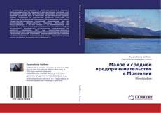 Borítókép a  Малое и среднее предпринимательство в Монголии - hoz