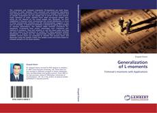 Bookcover of Generalization  of L-moments