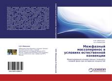 Bookcover of Межфазный массоперенос в условиях естественной конвекции
