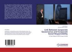Bookcover of Link Between Corporate Governance and Corporate Social Responsibility