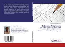 Portada del libro de Extension Programme Planning and Evaluation