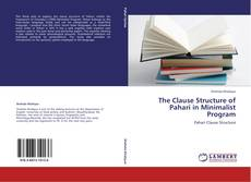 Capa do livro de The Clause Structure of Pahari in Minimalist Program