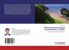 Bookcover of Macroeconomic Policy Coordination in EMU?