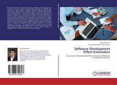 Bookcover of Software Development Effort Estimation