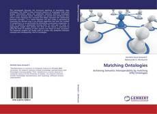 Capa do livro de Matching Ontologies