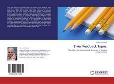 Capa do livro de Error Feedback Types: