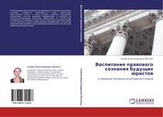 Bookcover of Воспитание правового сознания будущих юристов