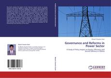 Bookcover of Governance and Reforms in Power Sector