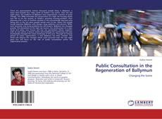 Couverture de Public Consultation in the Regeneration of Ballymun