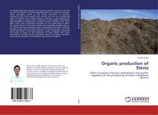 Bookcover of Organic production of Stevia