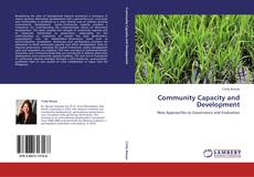 Bookcover of Community Capacity and Development