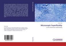 Bookcover of Microscopic Superfluidity