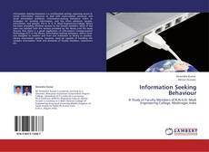 Bookcover of Information Seeking Behaviour