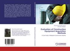 Borítókép a  Evaluation of Construction Equipment Acquisition  Methods - hoz
