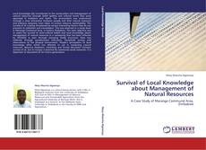 Buchcover von Survival of Local Knowledge about Management of Natural Resources