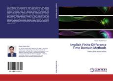 Capa do livro de Implicit Finite Difference Time Domain Methods
