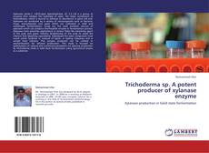 Capa do livro de Trichoderma sp. A potent producer of xylanase enzyme