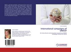 Bookcover of International campaigns of UNICEF