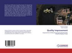 Bookcover of Quality Improvement