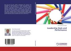 Bookcover of Leadership Style and Performance
