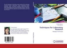 Capa do livro de Techniques for Laboratory Research