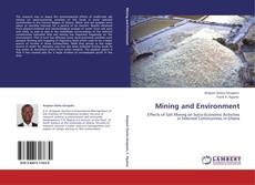 Bookcover of Mining and Environment