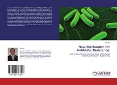 Capa do livro de New Mechanism for Antibiotic Resistance:
