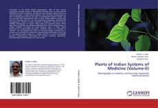 Buchcover von Plants of Indian Systems of Medicine (Volume-II)