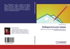 Bookcover of Избирательное право