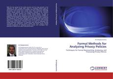 Buchcover von Formal Methods for Analyzing Privacy Policies