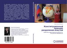 Buchcover von Конституционный принцип  разделения властей