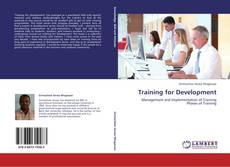 Couverture de Training for Development