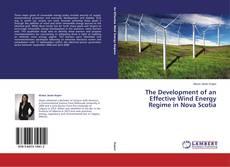 Capa do livro de The Development of an Effective Wind Energy Regime in Nova Scotia