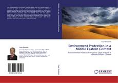 Buchcover von Environment Protection in a Middle Eastern Context
