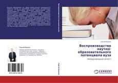Обложка Воспроизводство научно-образовательного потенциала вуза