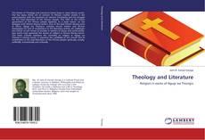 Обложка Theology and Literature