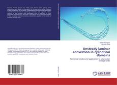 Portada del libro de Unsteady laminar convection in cylindrical domains