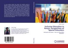 Portada del libro de Inclusive Education in Kenya: Perspectives of Special Educators