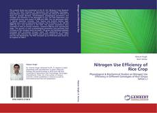 Nitrogen Use Efficiency of Rice Crop的封面