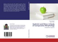 Buchcover von Kashmiri and Shina: A Study of Comparative Morphology