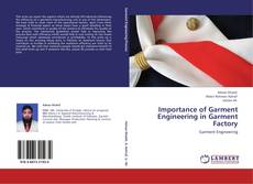 Bookcover of Importance of Garment Engineering in Garment Factory