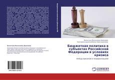Bookcover of Бюджетная политика в субъектах Российской Федерации в условиях кризиса
