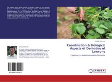 Borítókép a  Coordination & Biological Aspects of Derivative of Lawsone - hoz