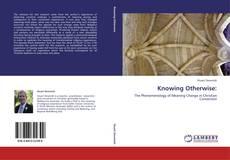 Knowing Otherwise: kitap kapağı