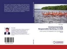 Couverture de Environmentally Responsible Banking in USA