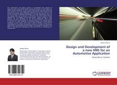 Buchcover von Design and Development of a new HMI for an Automotive Application