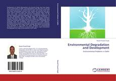 Bookcover of Environmental Degradation and Development